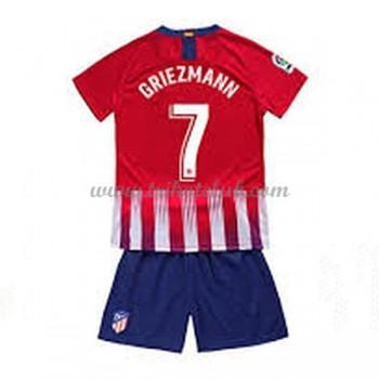 Atletico Madrid dětské Antoine Griezmann 7 fotbalové dresy domáci 2018-19