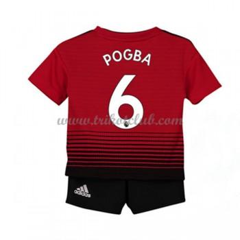 Manchester United dÄtské Paul Pogba 6 fotbalové dresy domáci 2018-19