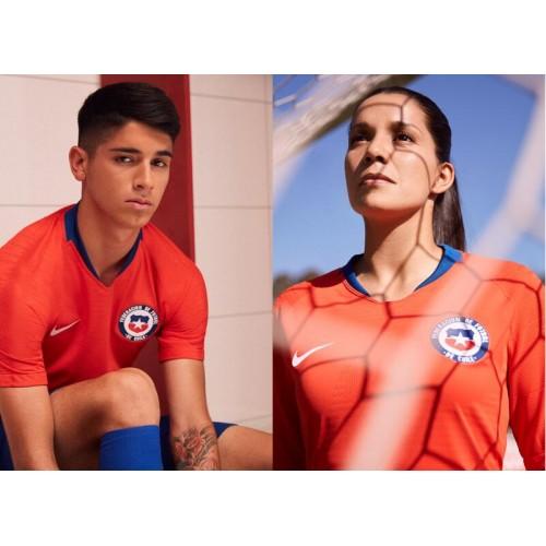 Chile Národní tým 2018 Nové domácí a dresové dresy