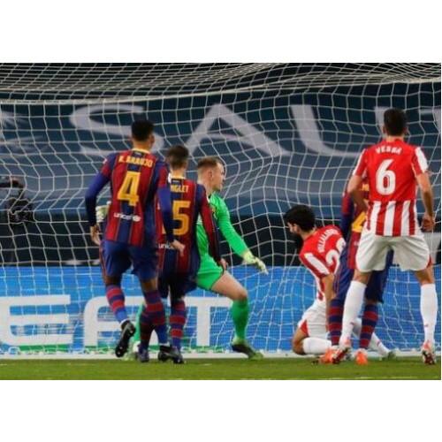 Barcelona La Liga neporažený po dobu 10 po sobě jdoucích her