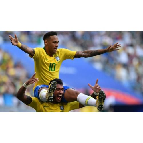 Dres Brazílie dětský MS 2018, dětské fotbalové dresy komplet Brazílie