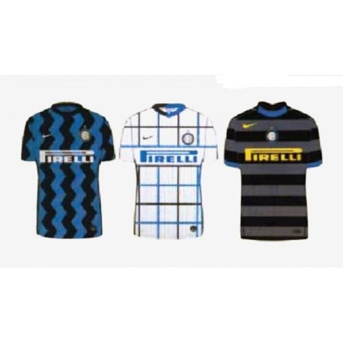 Inter Milán 2020-21 domů, pryč & třetí Fotbalový Dres