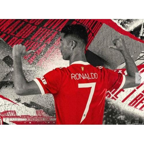 Manchester United oficiálně oznámil, že Ronaldo bude oblékat dres s číslem 7